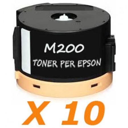 10 X AL-M200 Toner per Epson Workforce