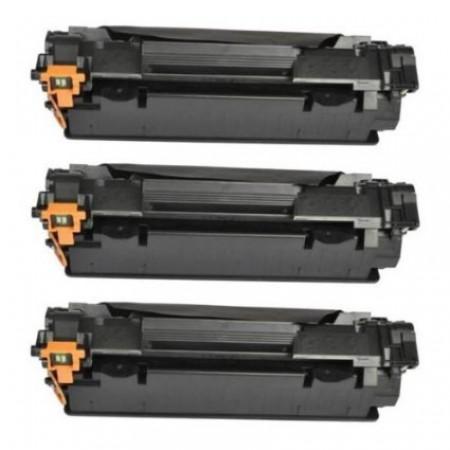 3 X CE285A Toner per HP