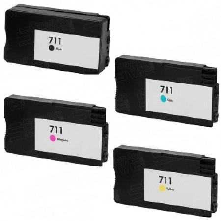 O-CZ133A Cartuccia BK per HP 711 CO-CZ133A Compatibile