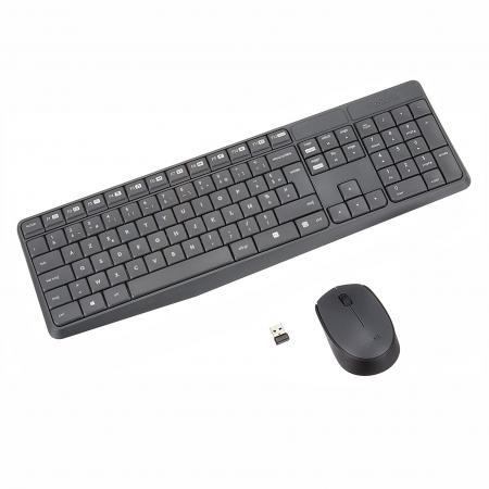 Logitech MK235 Kit Mouse e Tastiera WI-FI