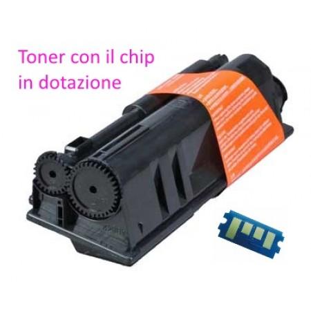 Toner per Kyocera Ecosys P 3045DN, P 3050DN, P 3055DN, P 3060DN, TK3160 con Chip