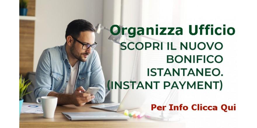 Organizza Ufficio Paga con Bonifico Istantaneo